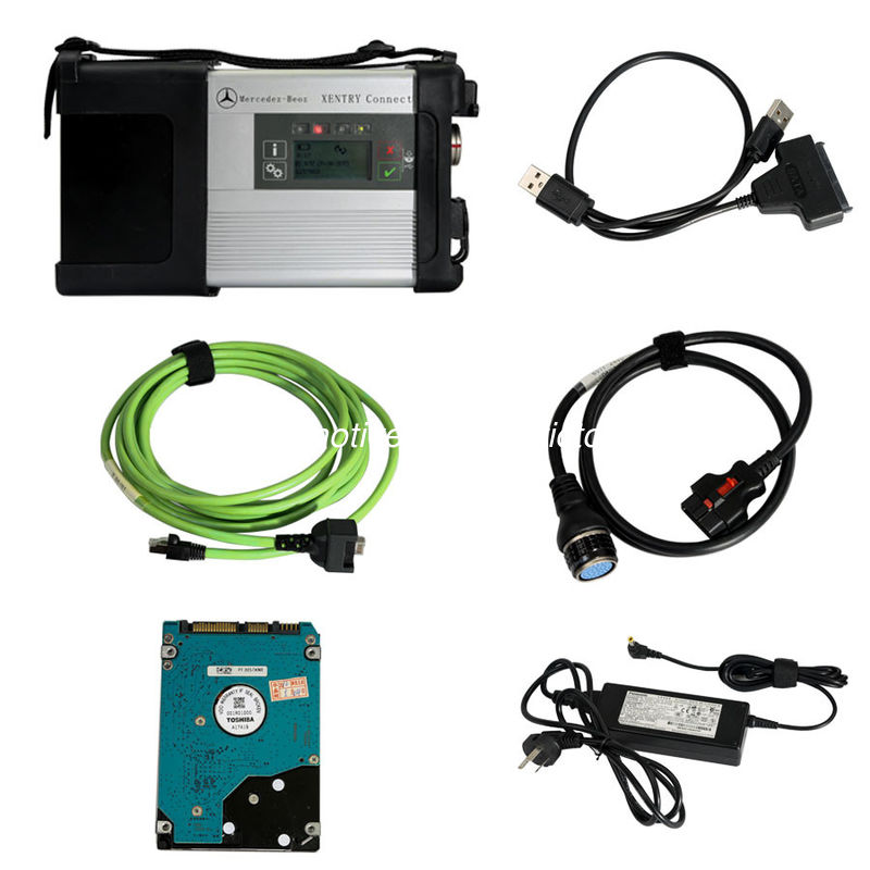 DoIP Xentry SD Connect C5 Wifi Mercedes Diagnostic Tool Tab Kit Support Online Programming